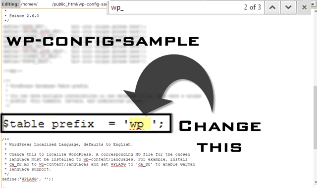 Change-wordpress-table-prefix
