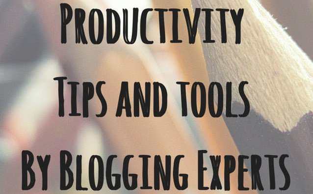 Productivity tips by experts