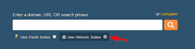 Historic index