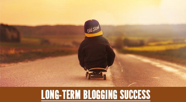 Long term blogging