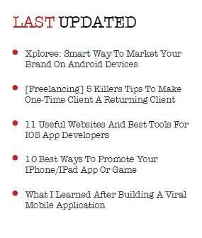 Last updated
