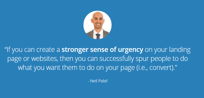 Neil patel scarcity marketing