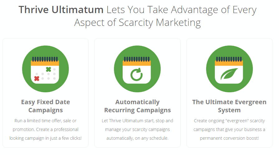 Thrive ultimatum features