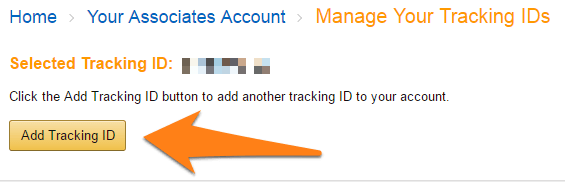 Add tracking ID