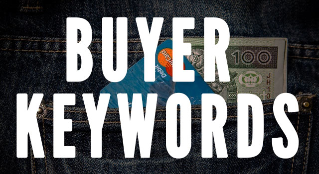 Find buyer keywords