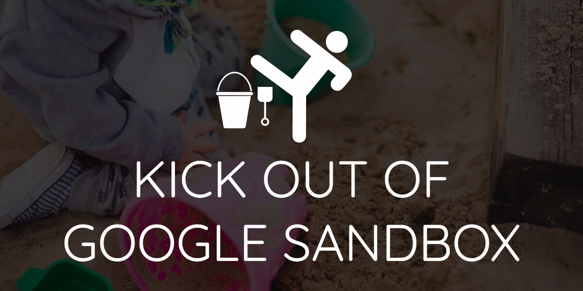 Google sandbox effect