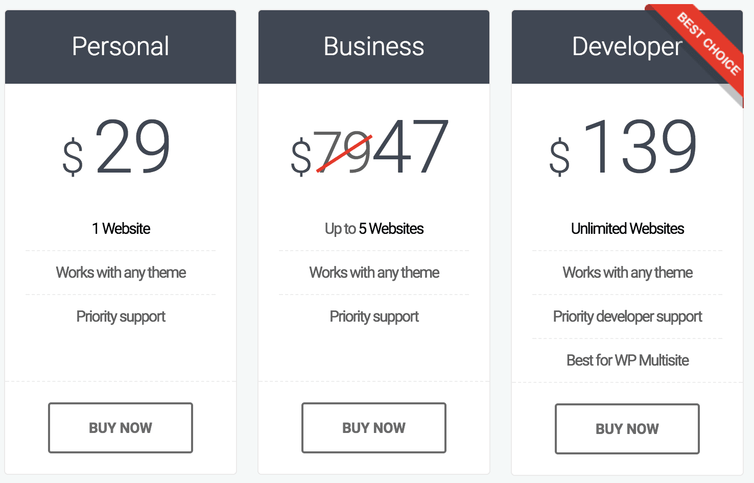 Motopress pricing