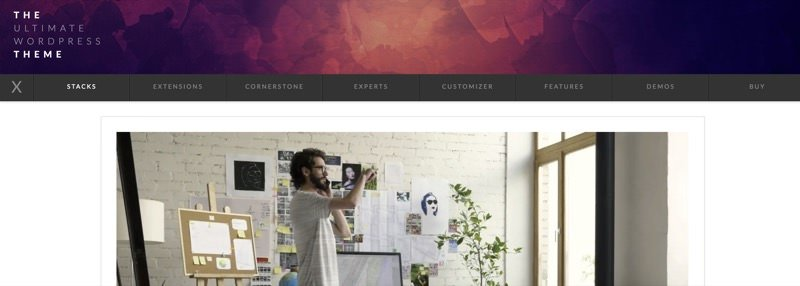 X theme- ultimate theme for WordPress