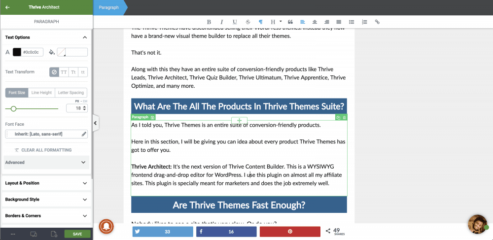 Price On Amazon Thrive Themes