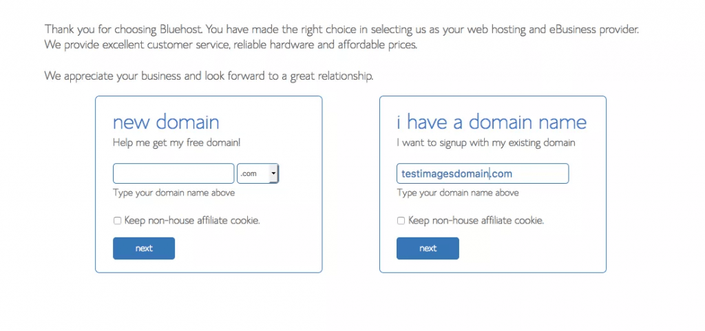 Creating a domain