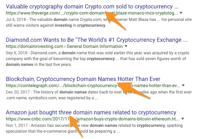 Crypto Domains
