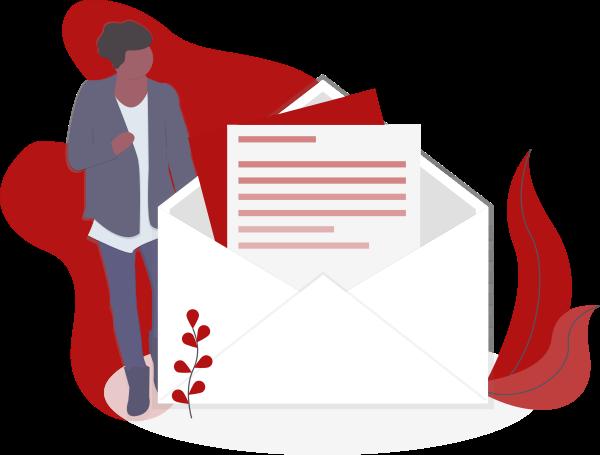 Newsletter undraw