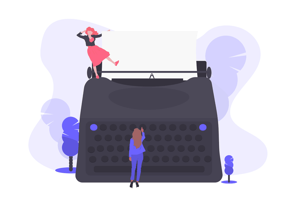 Write content