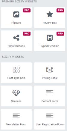 Sizzify elements pro