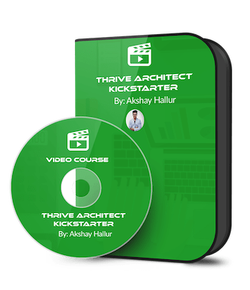 Thrive Architect Kickstarter