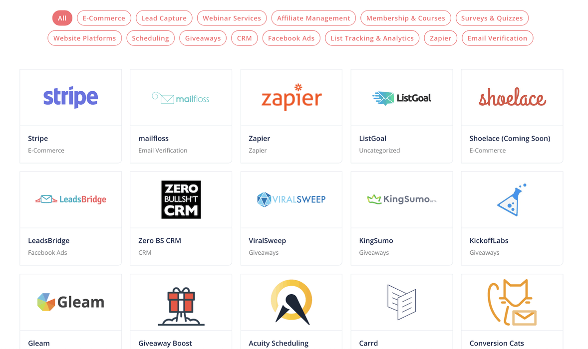 ConvertKit integrations