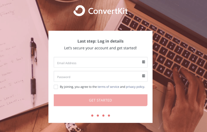 ConvertKit Login Trial