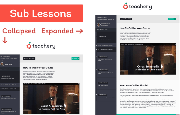 Teachery lessons
