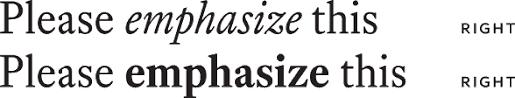 Choosing between serif and sans serif