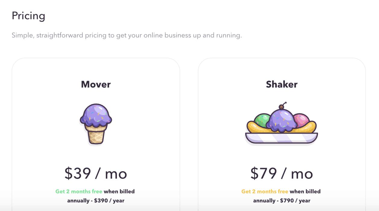 Podia pricing