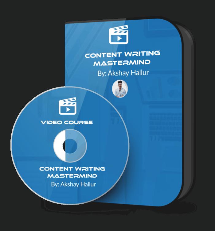 Content Writing Mastermind