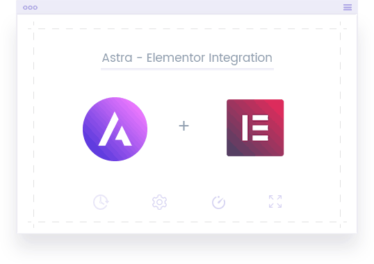 Astra and Elementor