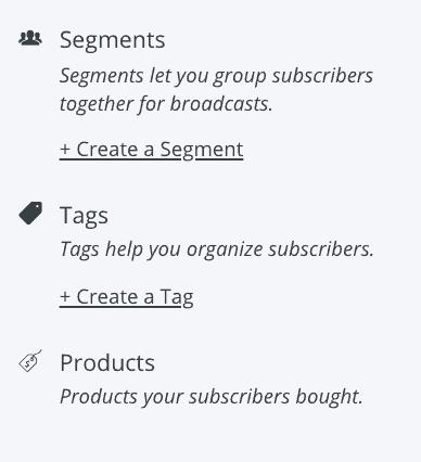 Convertkit segments