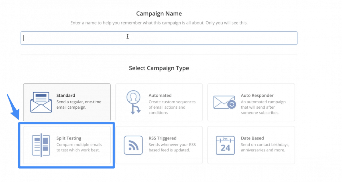 ActiveCampaign A/B Testing
