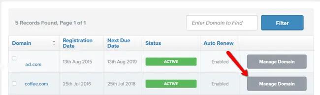 Fastcomet domain registrations