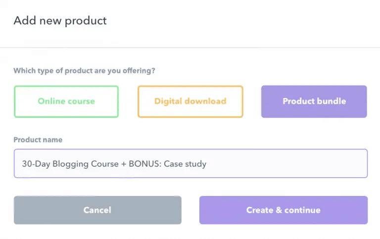 creating product bundles