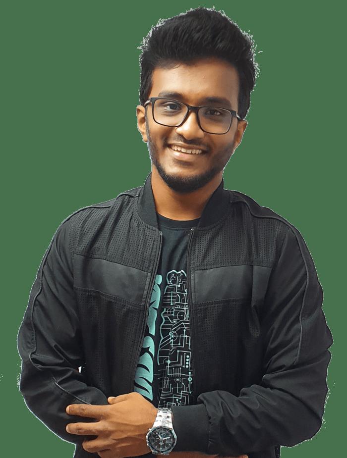 Akshay Hallur With Jacket Alpha