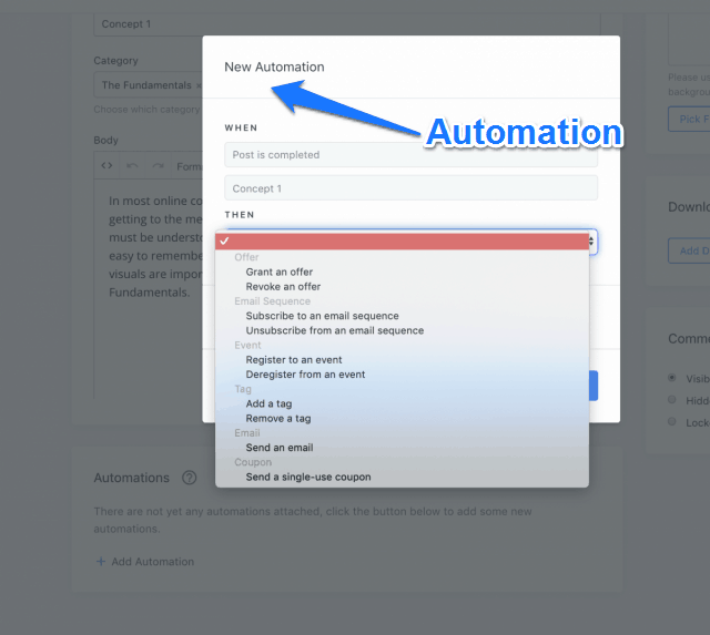 Automation For Each Lectures