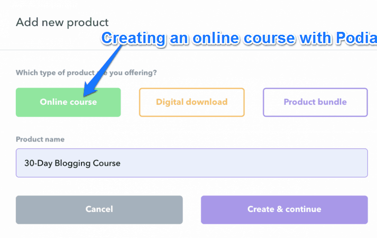 Creating An Online Course