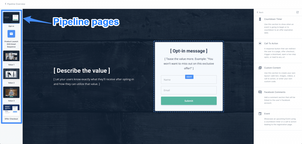 Pipeline Pages