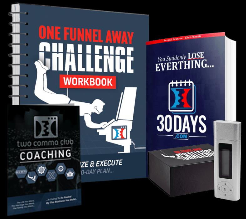 One Funnel Away Challenge kit