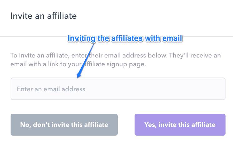 Podia Email Affiliate Invitation