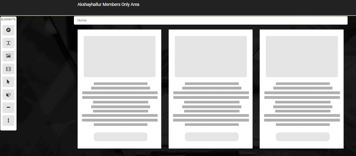 Customizing pages