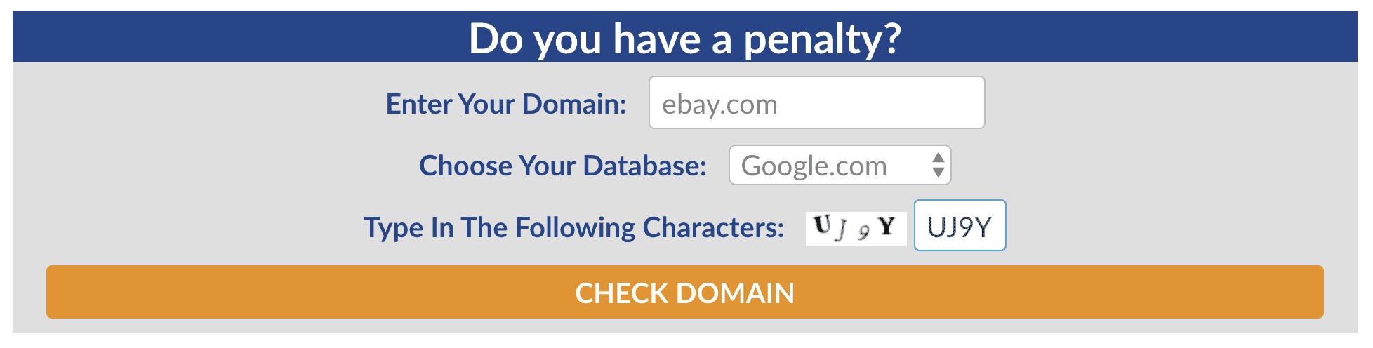 Website Penalty Indicator by FEinternational