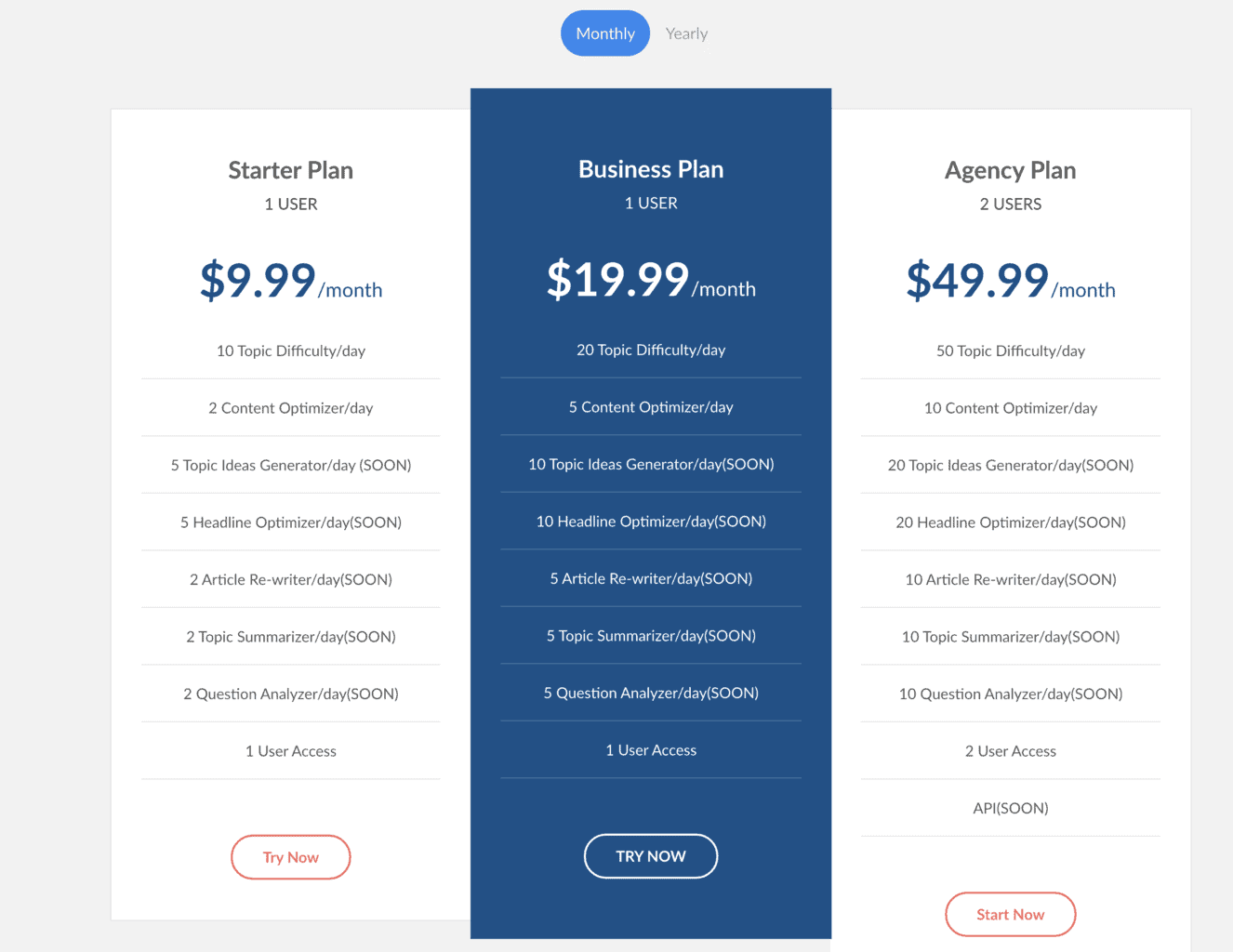 SimilarContent pricing