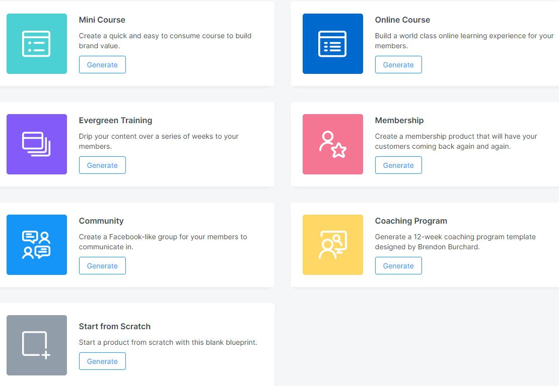 Kajabi Product Blueprints