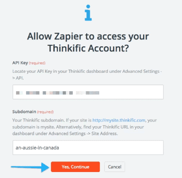 Integrating with Zapier