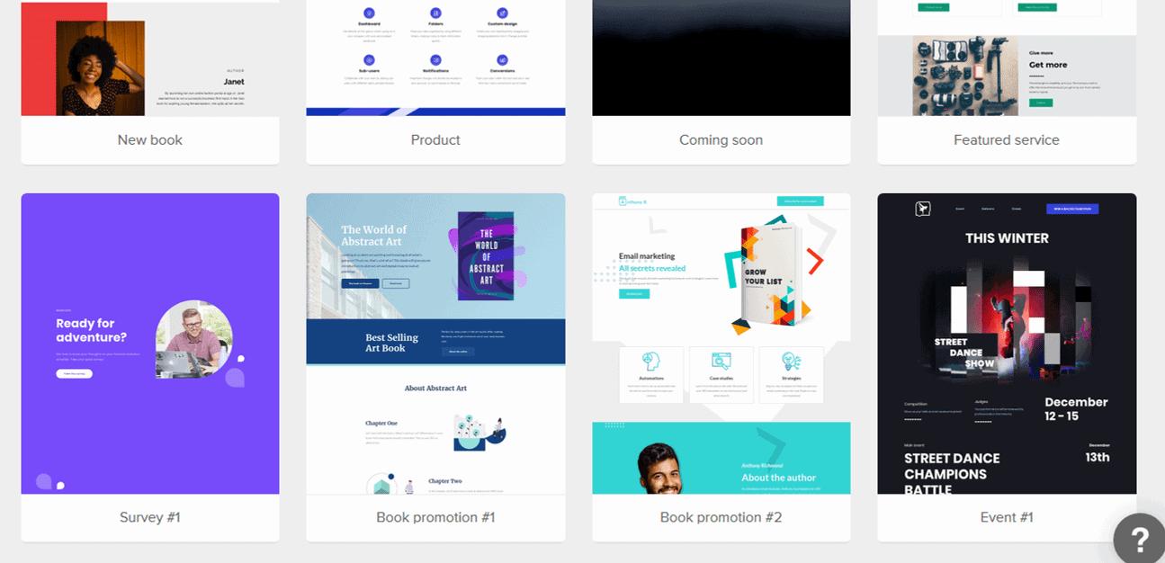 MailerLite templates