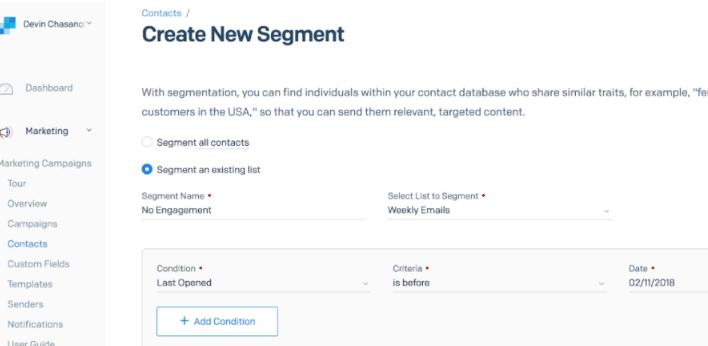 sendgrid list management