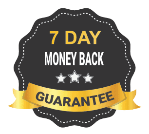 7 day money back guarantee