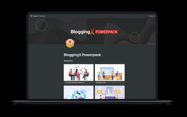 BloggingX Powerpack