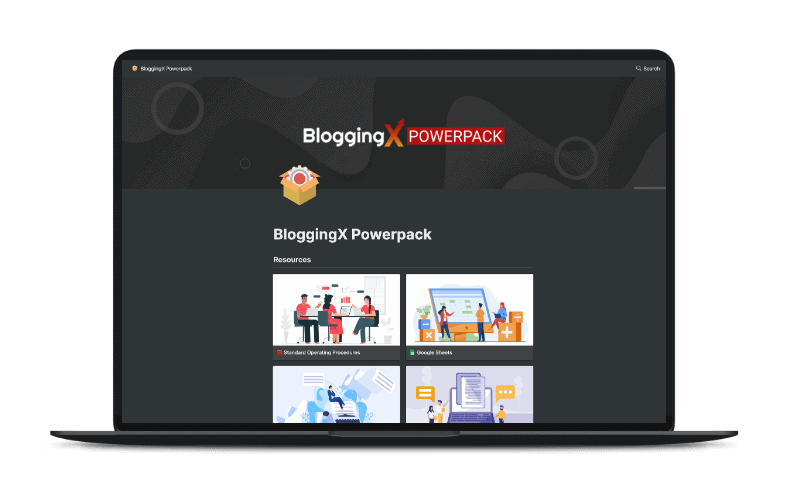 BloggingX Powerpack