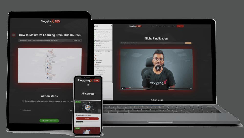BloggingX Pro Showcase