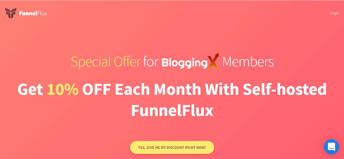 FunnelFlux discount