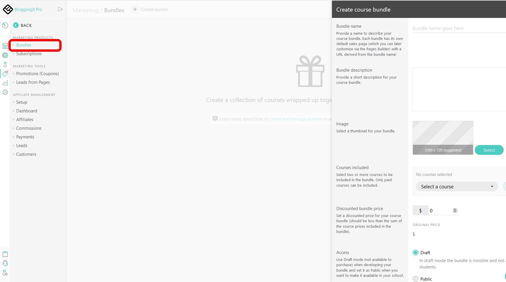 LearnWorlds bundles