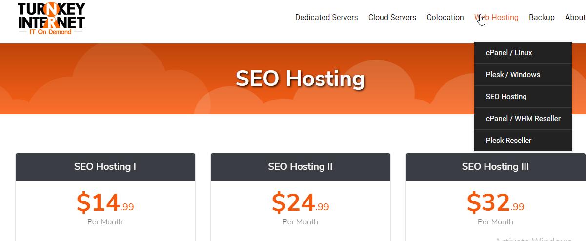 TurnKey hosting